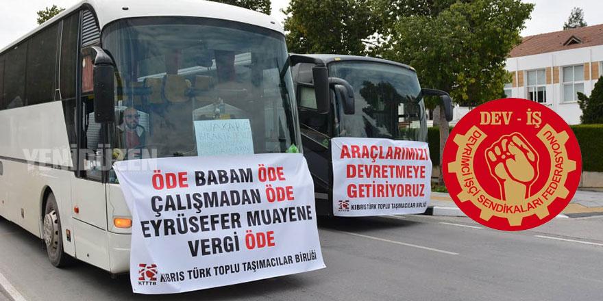 """DEV-İŞ'ten hükümete: """"Emekçilerin sesini duyun"""""""