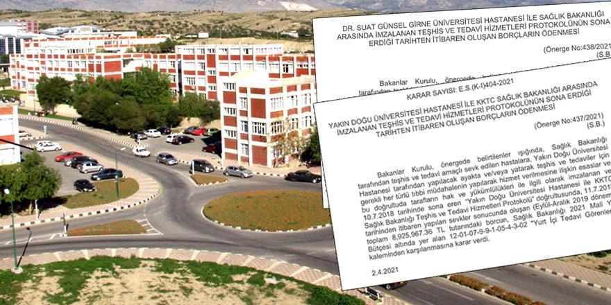 YDÜ'ye 12.5 milyon TL 'borç' ödemesi