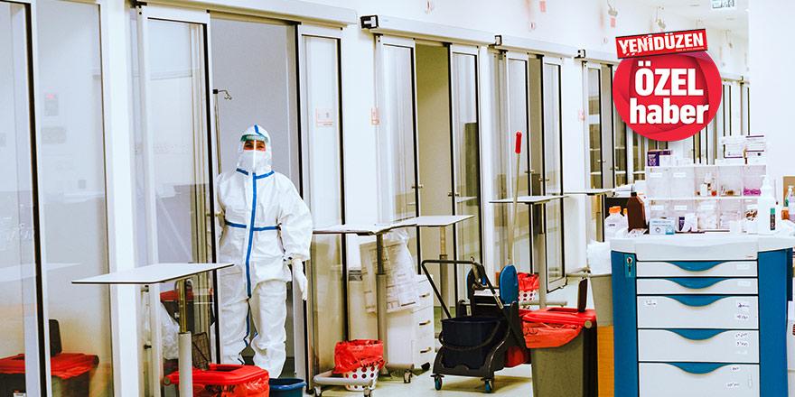 YENİDÜZEN Pandemi Hastanesi'nde  '3'üncü dalga gelebilir'