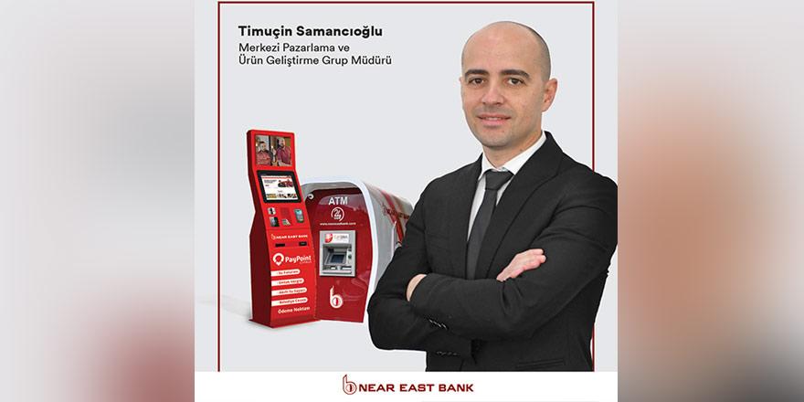Near East Bank ATM sayısını 52'ye çıkardı
