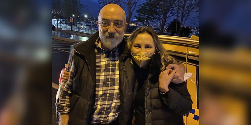 Ahmet Altan, 4 yıl 6 ay sonra AIHM kararı ile tahliye edildi