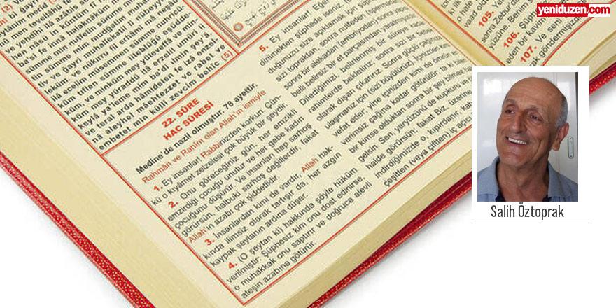Kuranı mutlaka okumalı okutmalıyız