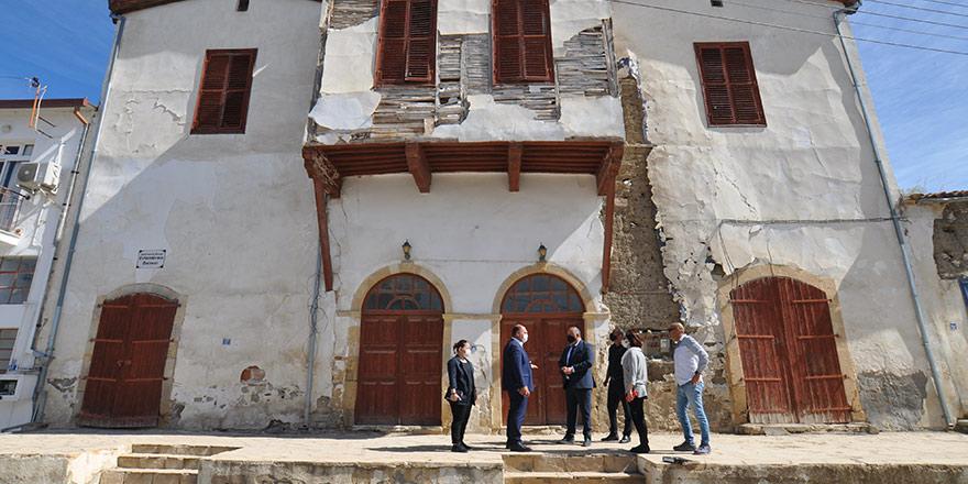 Tarihi Osmanlı konağı bölgeye kazandırılacak