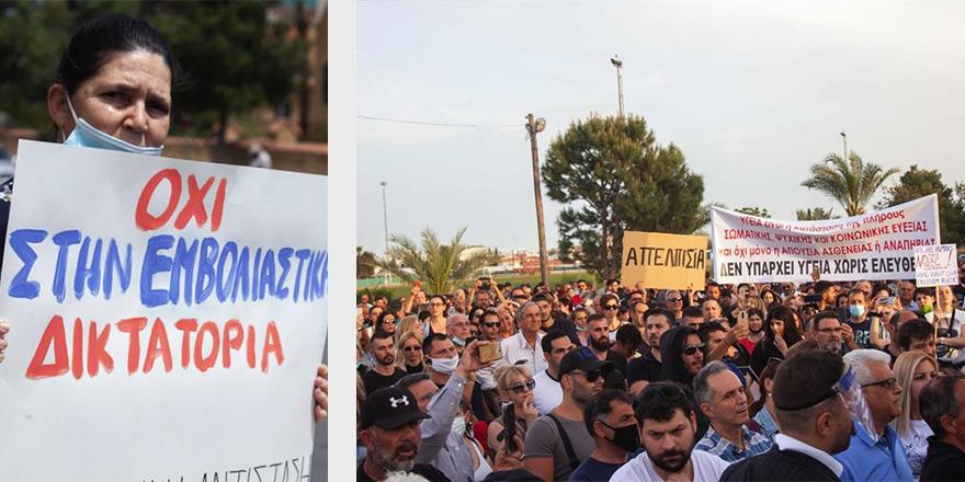 Güneyde 'kapanma' protestosu