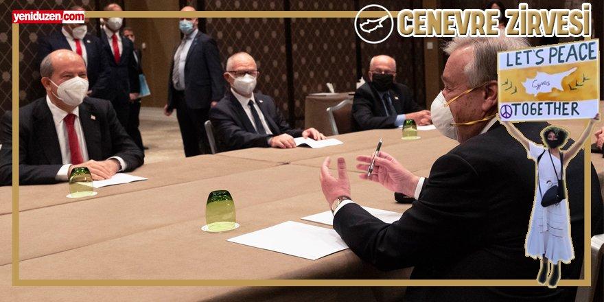 Cenevre'deki Kıbrıs konferansı başladı