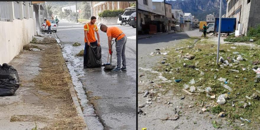 Güngördü: Girne'yi temiz tutun, kirletmeyin