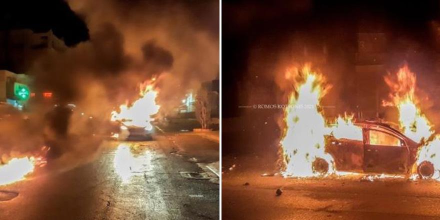 24 saatte 261 yangın, polis ve itfaiye öfkeli