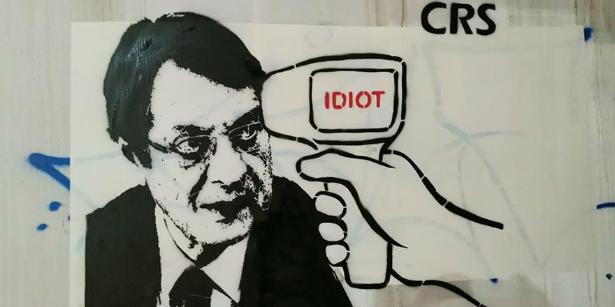 Anastasiadis'e yine karikatürle tepki