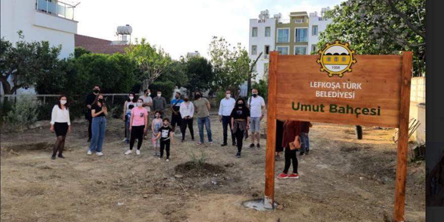 'Umut Bahçesi'nde ağaçlandırma devam ediyor