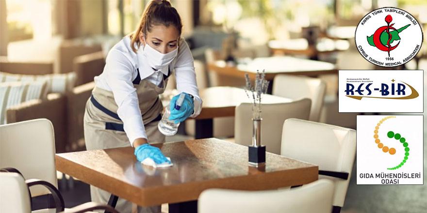 Restoranlar için 33 maddelik önlem