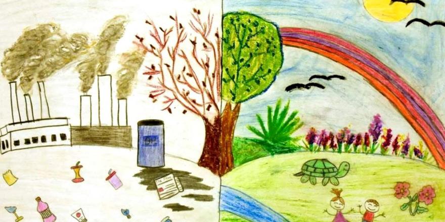 """Çevre Koruma Dairesi """"Doğamızdaki Canlılar"""" konulu resim yarışması düzenliyor"""