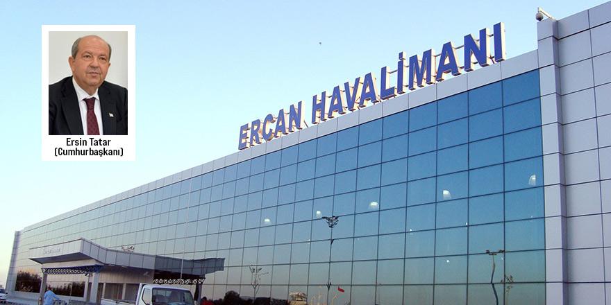 Tatar'dan Ercan Havaalanı'nda isim değişikliği için geri adım
