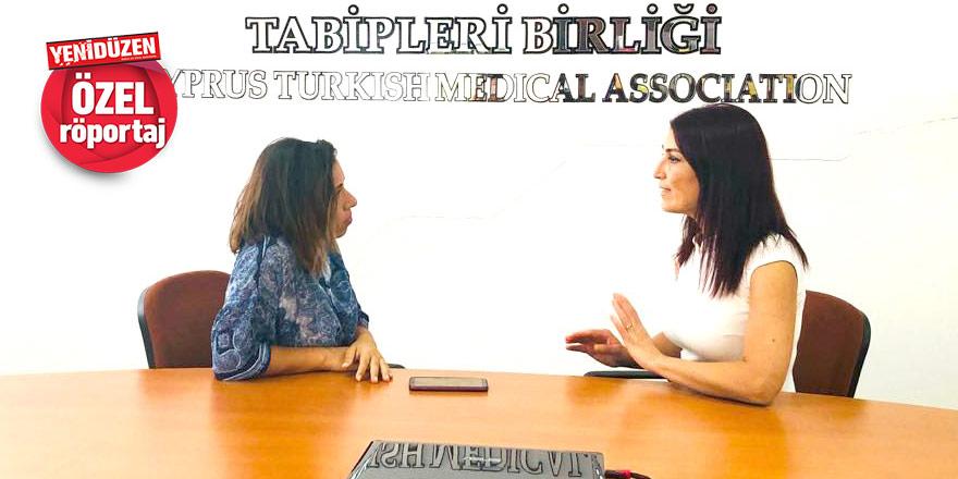 Kıbrıs Türk Tabipleri Birliği Başkanı Özlem Gürkut:   'Halktan kopuk salgın  yönetimi olmaz'