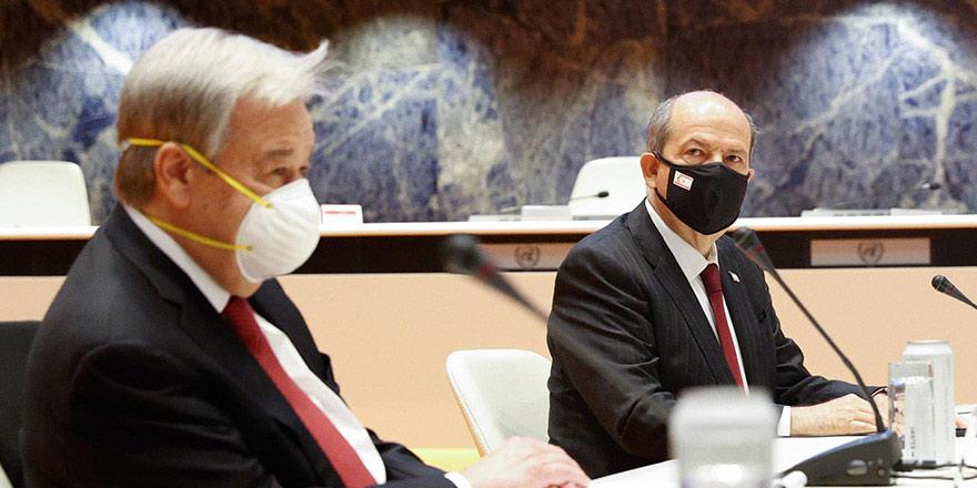 Tatar'ın Guterres'le görüşmesinin saati belli oldu