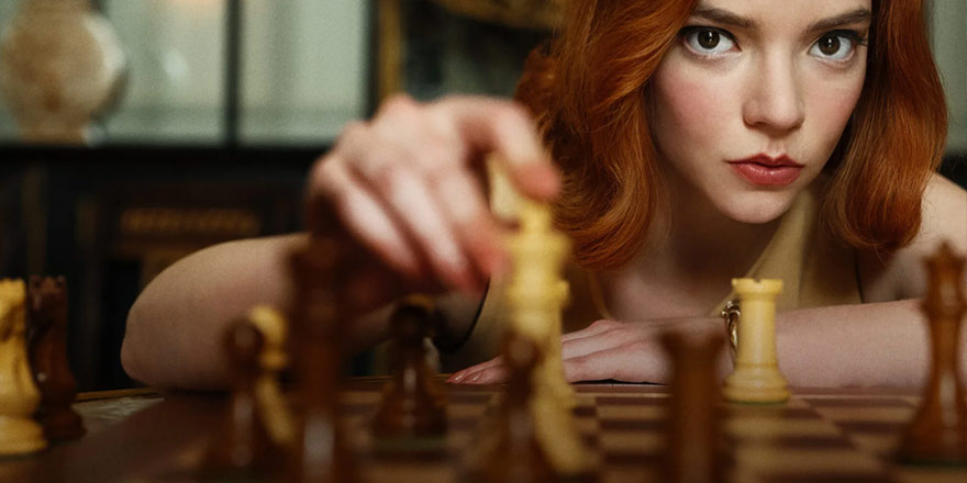 The Queen's Gambit: Beth Harmon, Harry Potter'e Karşı