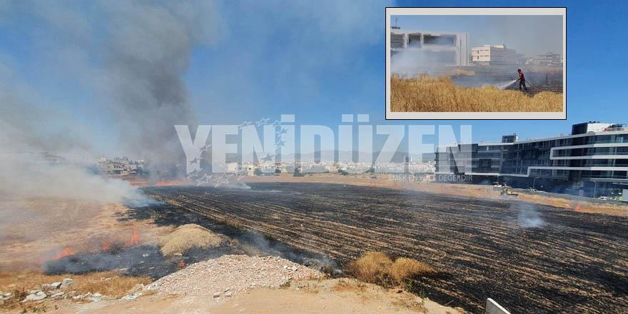Kermiya'da yangın