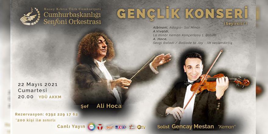 Cumhurbaşkanlığı Senfoni Orkestrası'ndan Gençlik Konseri