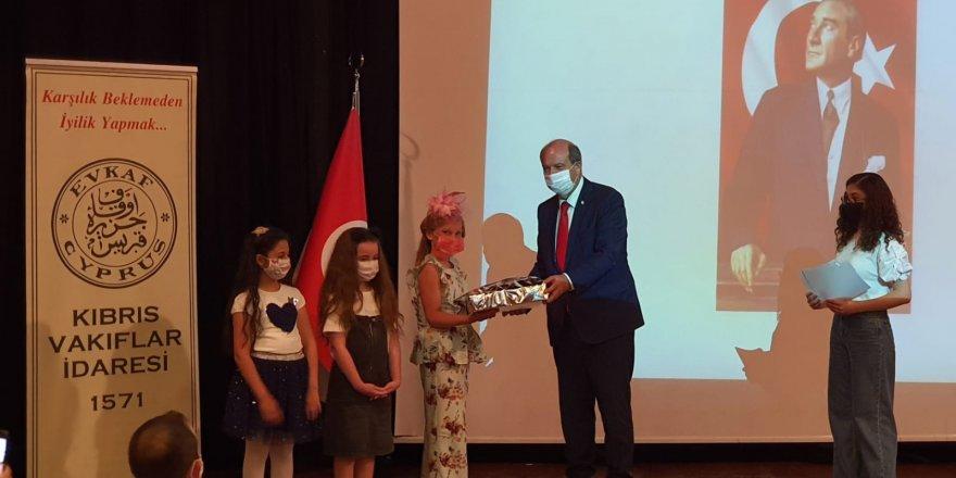 """Vakıflar İdaresi'nin """"İsraf"""" konulu yarışmalarının ödül töreni gerçekleştirildi"""