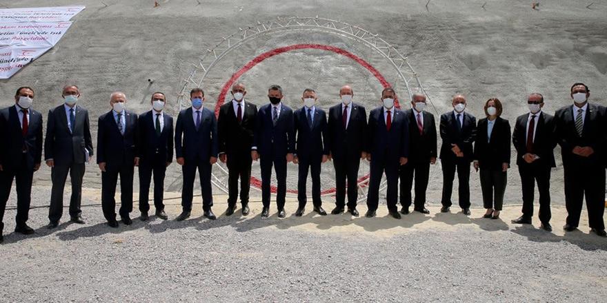 Tünel açıldı, Erdoğan canlı yayın ile katıldı