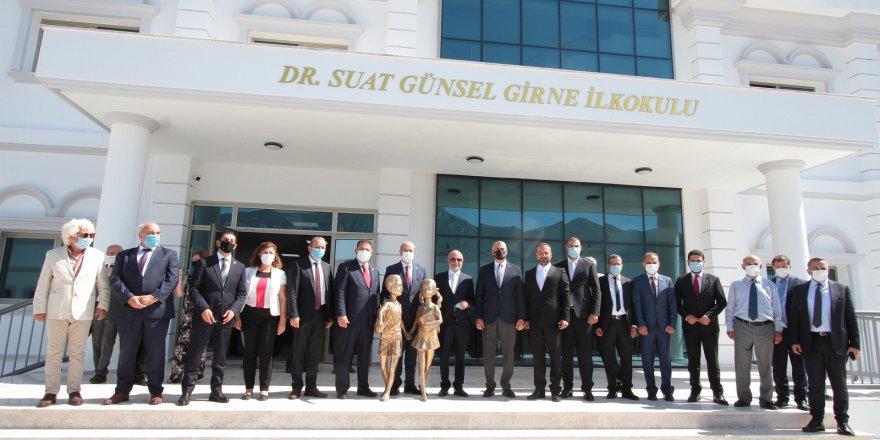 Dr. Suat Günsel Girne Koleji törenle açıldı