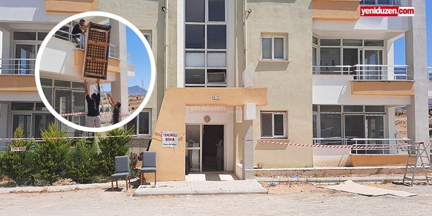 Can güvenliği nedeniyle apartman mühürlendi