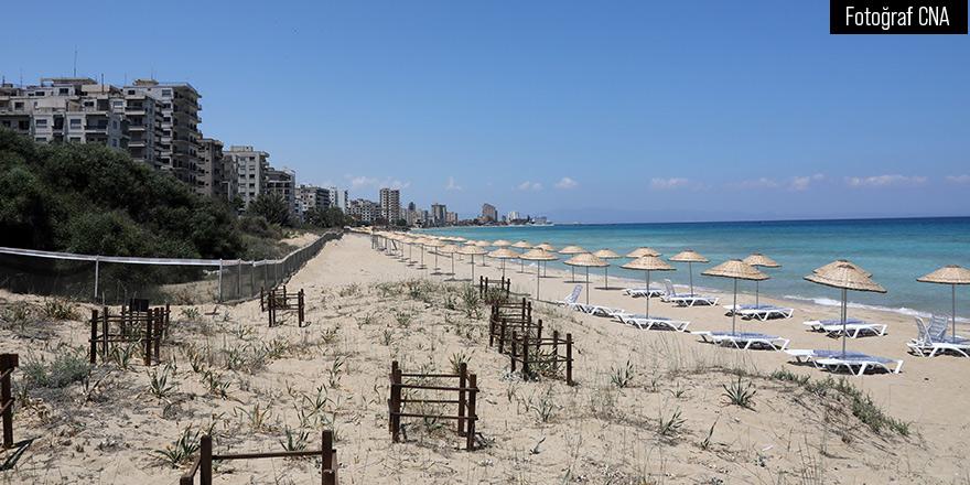 Maraş'ta iki plaj hizmete açılıyor