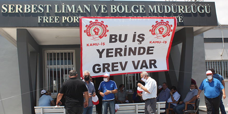 'Yetki Karmaşası' gerekçesiyle grev