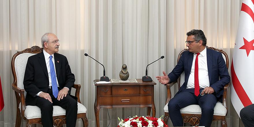 Erhürman'dan Kılıçdaroğlu'na: Siyasi eşitlik ve federal çözüm mücadelesi sürüyor