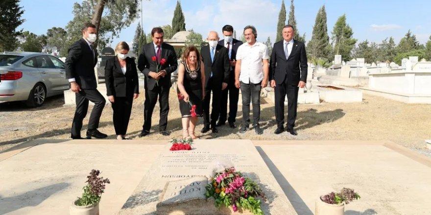 Kılıçdaroğlu Adalı'nın mezarında: Katiller belli, gereğini yapın
