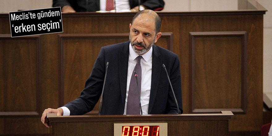 Özersay'dan Başbakan Saner'e: Güç zehirlenmesi yaşıyorsunuz