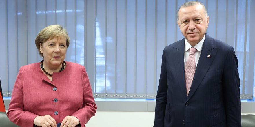 Merkel-Erdoğan görüşmesi: Kıbrıs çözümü de konuşuldu