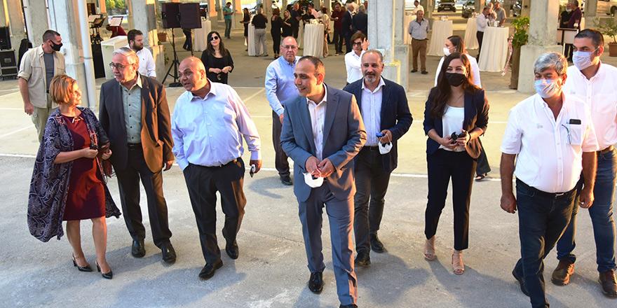 Başkanlar Merkez Lefkoşa'da buluştu