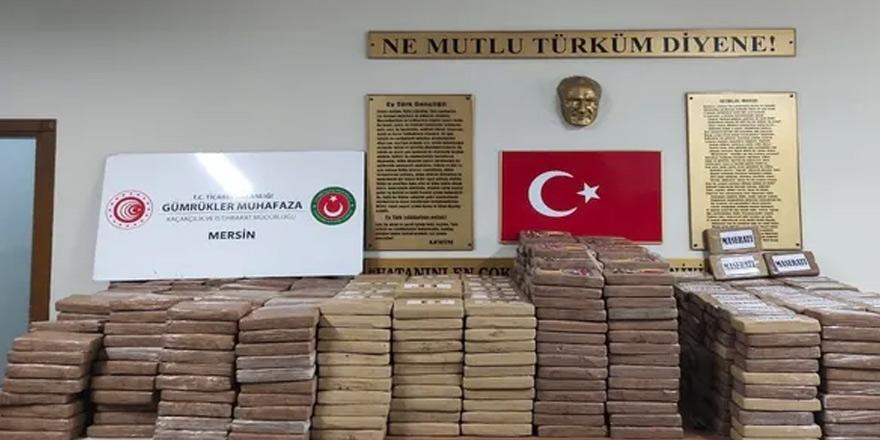 Mersin Limanı'nda 1 ton kokain