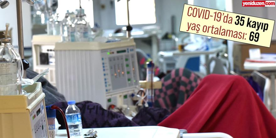 COVID-19'da 35 kaybın yaş ortalaması: 69