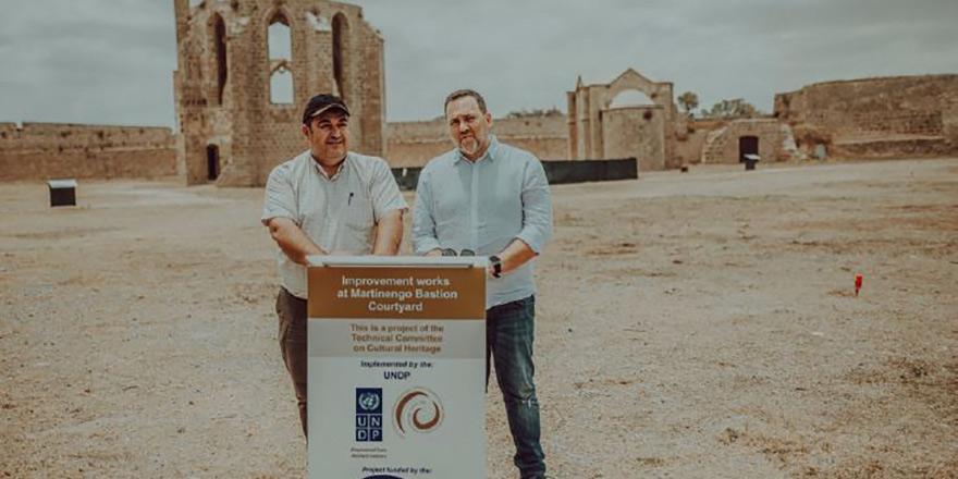 Mağusa'da tarihi binalara iki toplumlu koruma