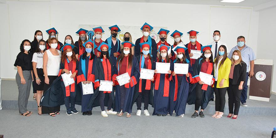 Taner Akcan Çıraklık ve Yetişkin Eğitim Merkezi'nden 156 mezun