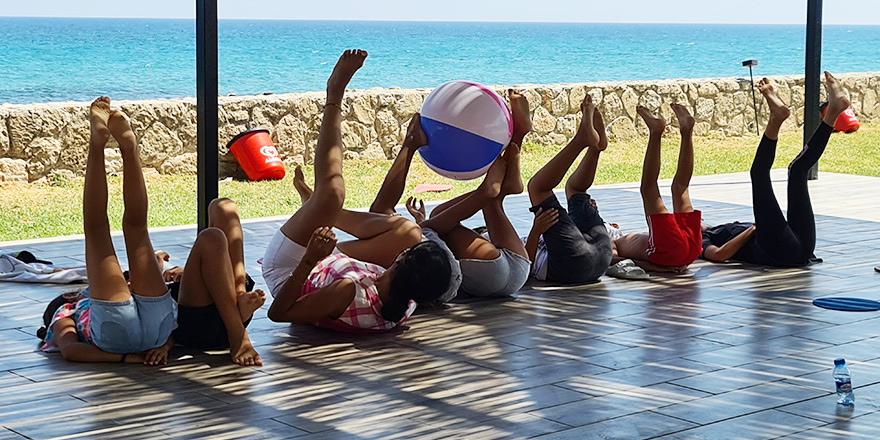 Girne'de yaz tatili çocuk atölyeleri devam ediyor