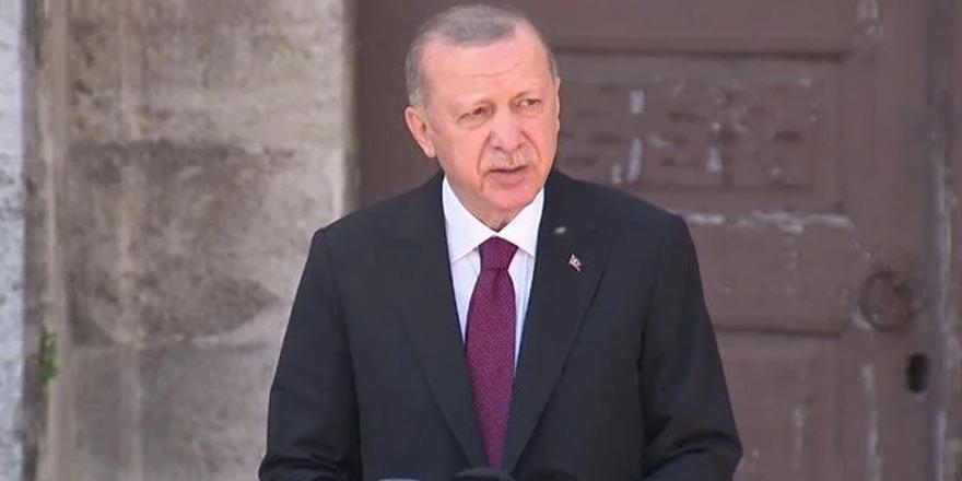 """Erdoğan: """"Kuzey-Güney Kıbrıs diye bir olay kalmadı"""""""