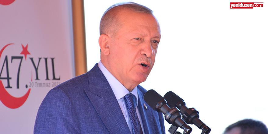 Erdoğan: Maraş'ta hayat yeniden başlayacaktır