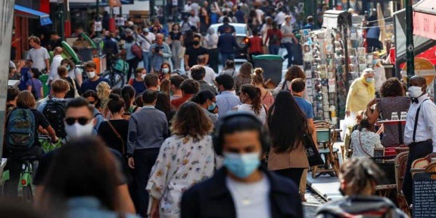 Fransa'da son 24 saatte 18 bin vaka: 'Daha önceden görülmemiş bir artış'