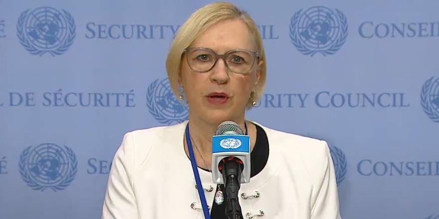 Spehar,  Maraş ile ilgili BM Güvenlik Konseyi'nin bilgilendirdi