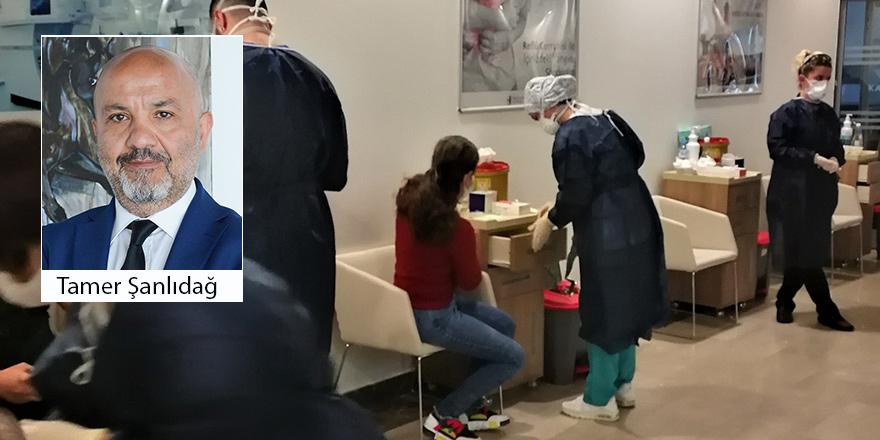 """"""" Sinovac aşısı yaptıran 609 sağlık çalışanı arasında sadece bir kişi COVID-19 oldu"""""""