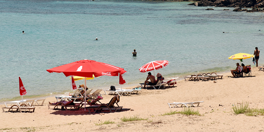 Plajda bayram