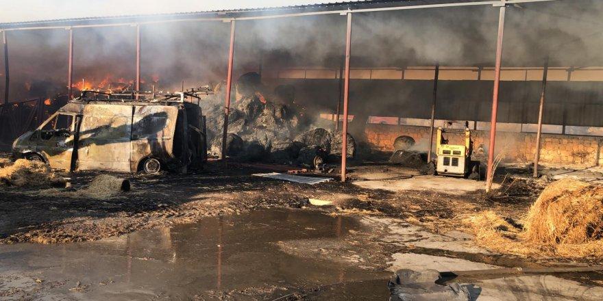 Güngör'de yangın: 1 hafif yaralı