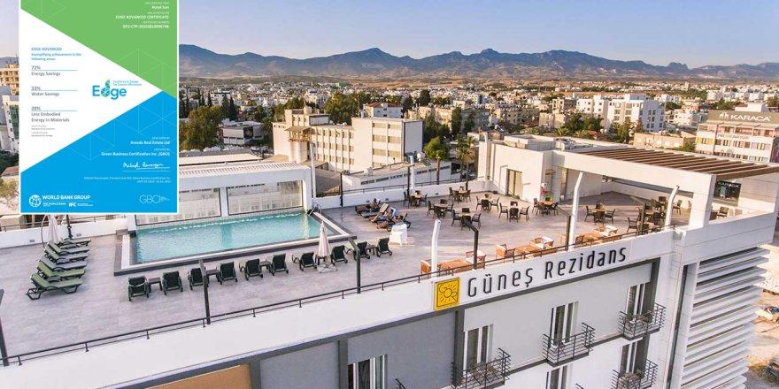 Güneş Hotel IFC EDGE Sertifikası aldı