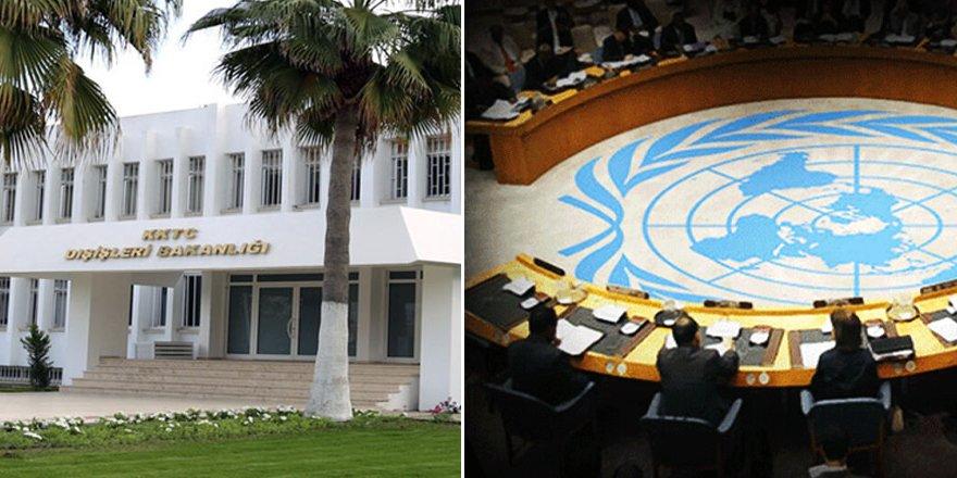 """Dışişleri'nden BM'ye """"tehdit"""" gibi çağrı"""