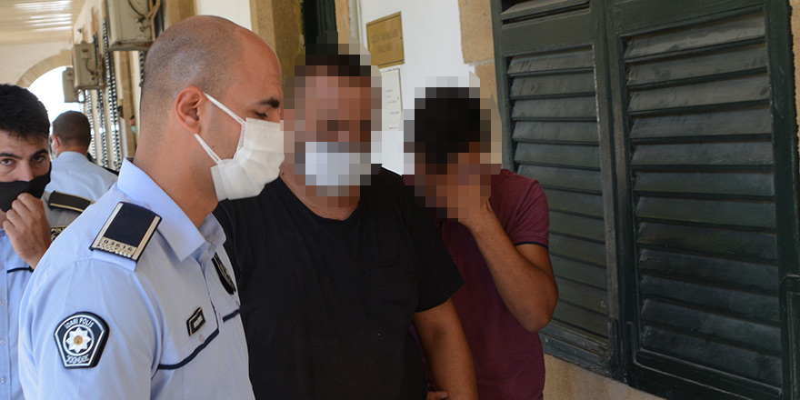 Haspolat'ta hırsızlık: İki kişi tutuklandı