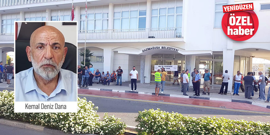 Gazimağusa Belediyesi'nde yeni bir skandal, Maaştan kesildi,  bankaya yatırılmadı