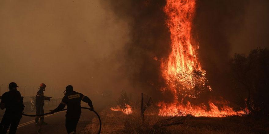 Yunanistan'a yangınla mücadele için yardım