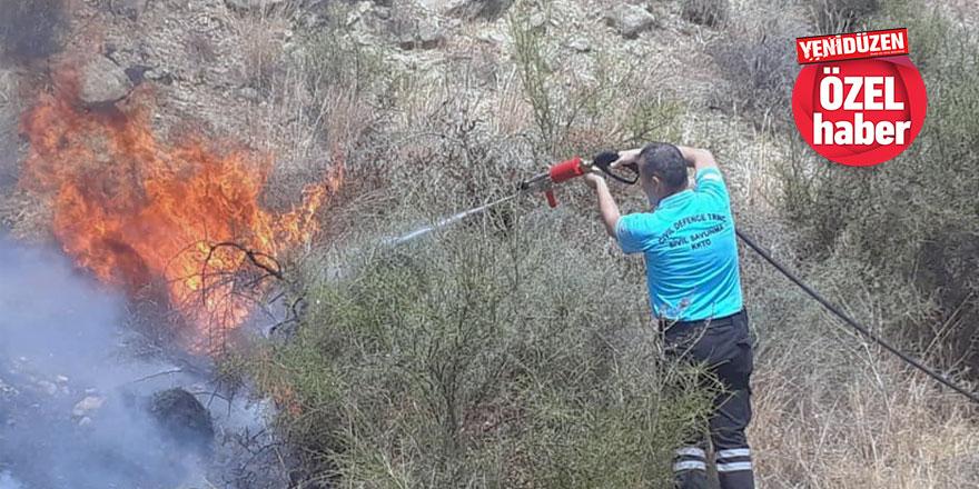 """Yangınlar konusunda kırsaldaki yerel yönetimlerden yükselen ses:""""Donanım sağlansın,  ilk biz müdahale edelim!"""""""